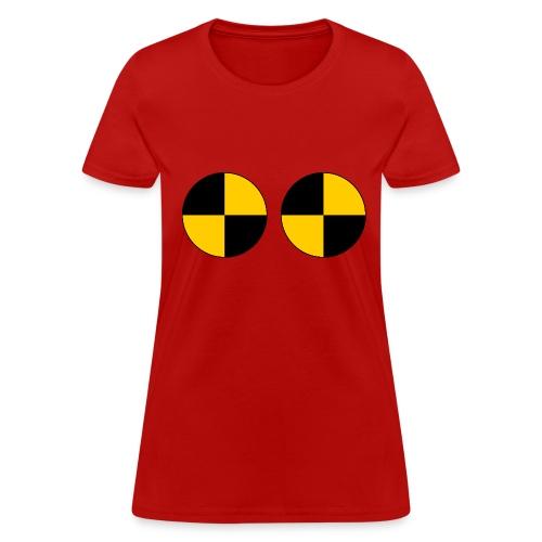 Crash Test Points - Women's T-Shirt