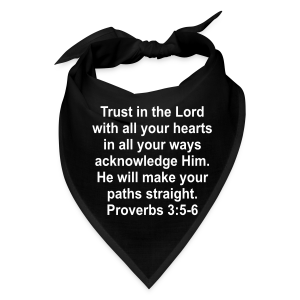Trust In The Lord - Bandana