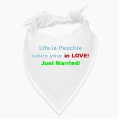 Life is peachie when your in love, just married