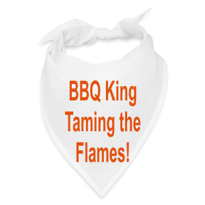 BBQ KING TAMING THE FLAMES - Bandana