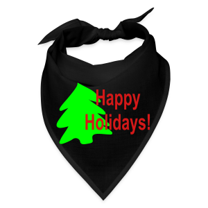 Happy Holidays - Bandana