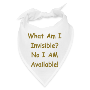 What Am I Inveisible? - Bandana