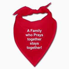 A family who prays together stays together!