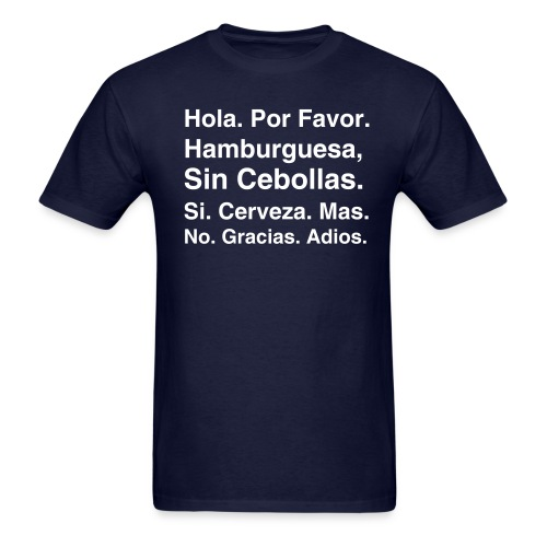 Survival Spanish 3 - Men's T-Shirt