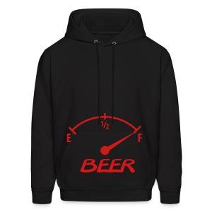 beer o meter - Men's Hoodie
