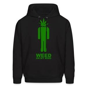 weed - Men's Hoodie