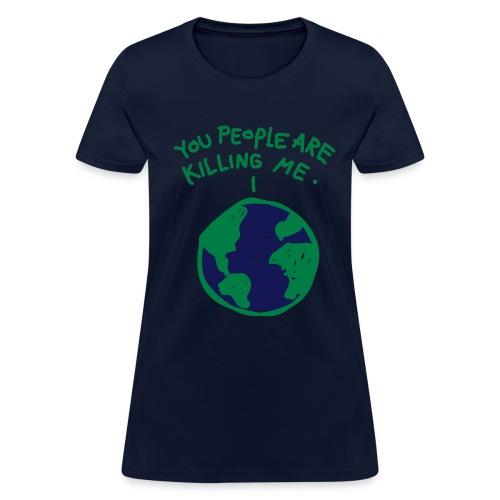 Dying Planet - Women's T-Shirt