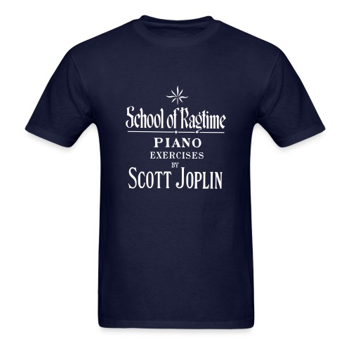 Joplin's School of Ragtime - Men's T-Shirt