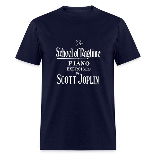 Joplin's School of Ragtime - Men's T-Shirt
