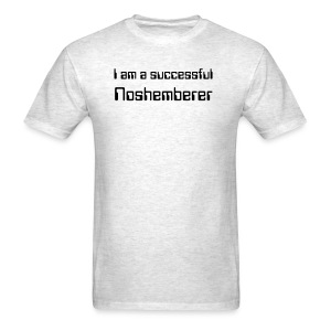 I am a successful Noshemberer, Men's Light Tee - Men's T-Shirt