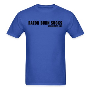 Razor Burn Sucks, Men's Light Tee - Men's T-Shirt