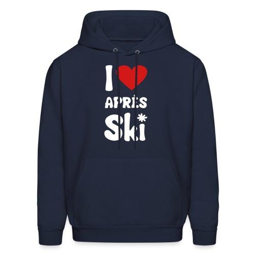 "T-shirt ""I love après-ski "" - Men's Hoodie"