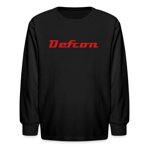 Defcon apparel - Kids' Long Sleeve T-Shirt