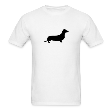 White weiner dog T-Shirts