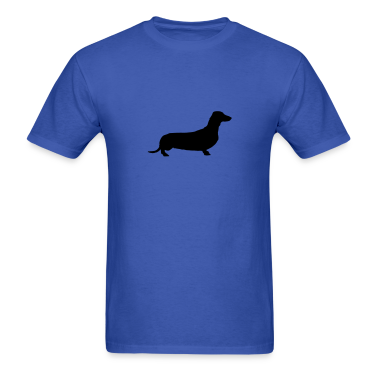 Royal blue weiner dog T-Shirts