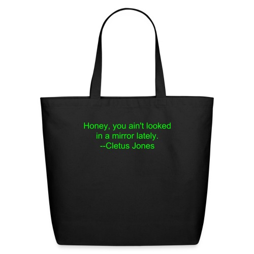 WISDOM OF CLETUS 1 - TOTE BAG - Eco-Friendly Cotton Tote