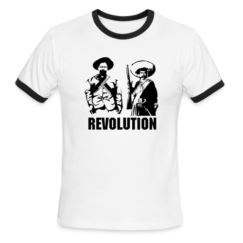 'Revolution' Ringer Tee - Men's Ringer T-Shirt