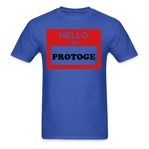 Hello i am Protoge Men's - Men's T-Shirt