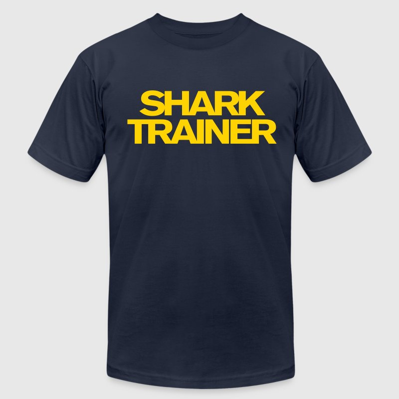Shark Trainer - Men's T-Shirt by American Apparel