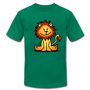 Lion - Men's T-Shirt by American Apparel