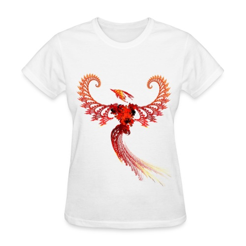Phoenix Fractal - Women's - Women's T-Shirt