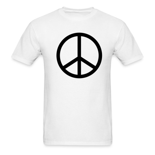 Peace - Men's Lightweight T-Shirt by Fruit of the Loom - Men's T-Shirt