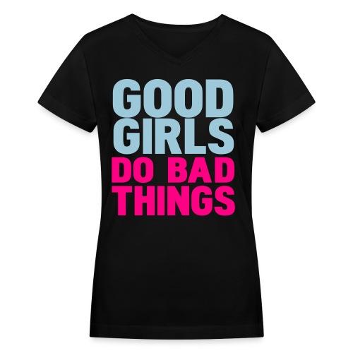 Womens GGDBT V Neck - Women's V-Neck T-Shirt