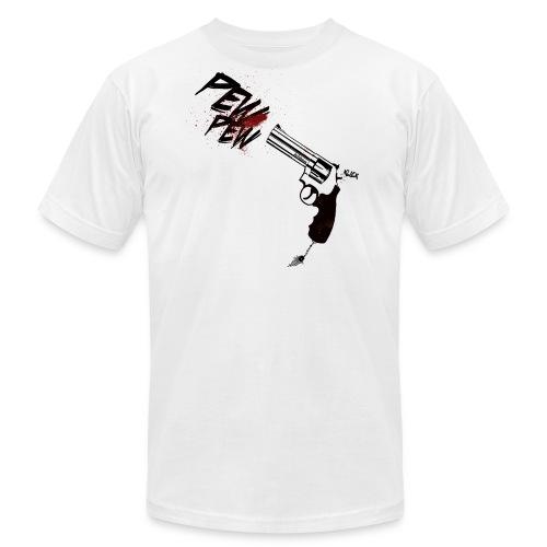 pew pew - white - Men's  Jersey T-Shirt
