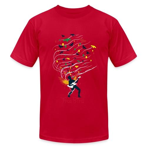 Guitar Hero Sheet Music - Men's Fine Jersey T-Shirt