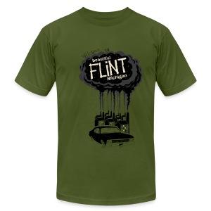 Beautiful Flint Michigan - Men's Fine Jersey T-Shirt