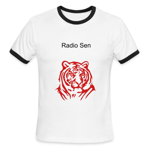 New Radio Sen T-Shirt - Men's Ringer T-Shirt