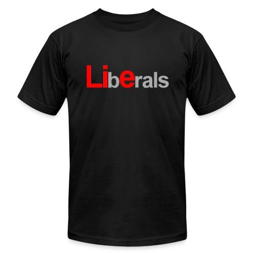 Liberals... - Men's Fine Jersey T-Shirt