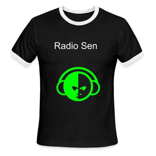 Radio Sen - Men's Ringer T-Shirt