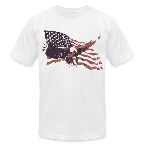 Men's - Eagle Flag - Men's Fine Jersey T-Shirt