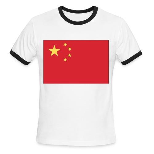 China - Men's Ringer T-Shirt