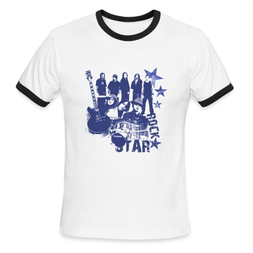 VooDoo rock star - Men's Ringer T-Shirt