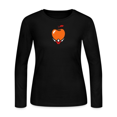 Women's Long Active Apple - Women's Long Sleeve Jersey T-Shirt