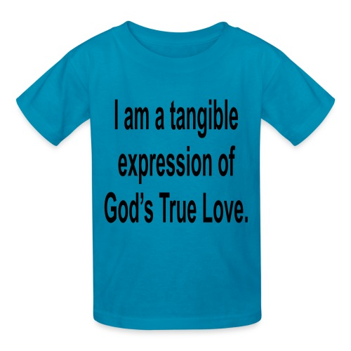 God's true love-pink - Kids' T-Shirt
