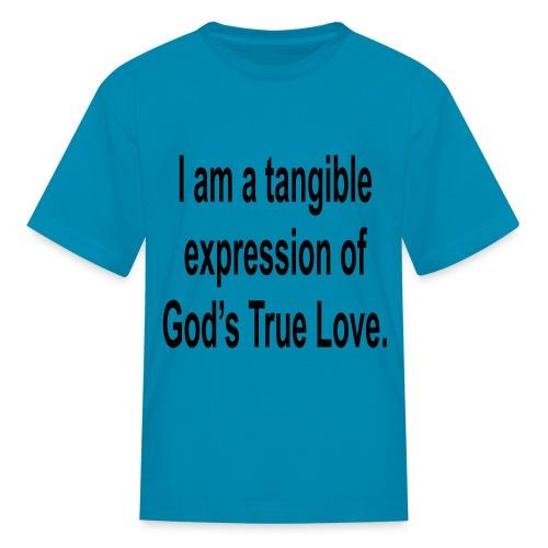 God's true love-pink - Kids' T-Shirt