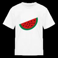 Kids' Shirts ~ Kids' T-Shirt ~ KKT 'Large Watermelon Slice' Children's Tee