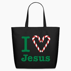 I Heart Jesus Bag
