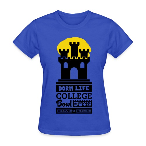 Dorm Life - College Bowl (M) - Women's T-Shirt