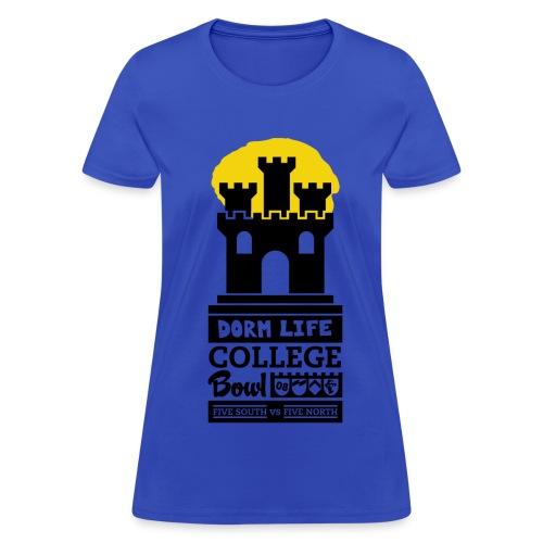 Dorm Life - College Bowl (M) - Women's T-Shirt