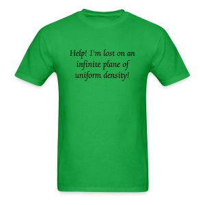 Infinite Plane - Men's T-Shirt