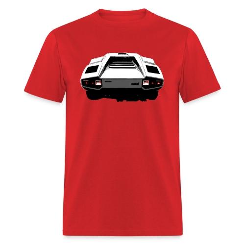 Countach Rear - Men's T-Shirt