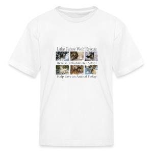 LTWR Tiled Design - Kids' T-Shirt