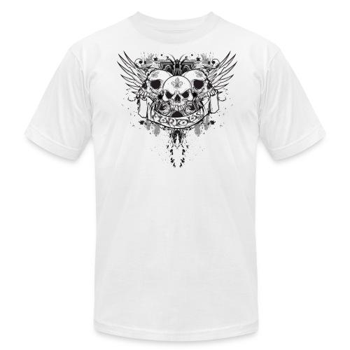 Flying Skulls AA Tee - Men's Fine Jersey T-Shirt