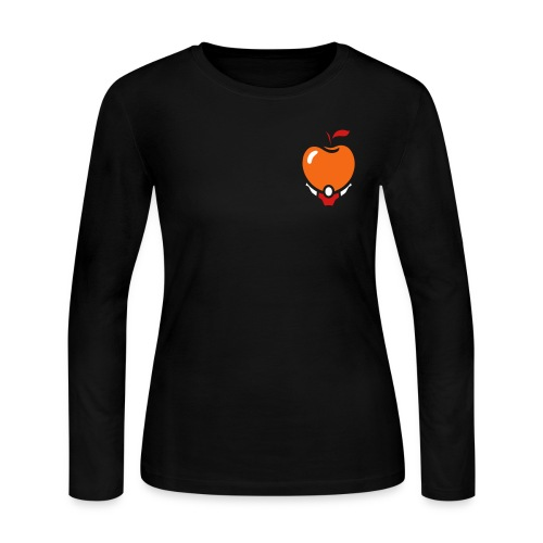 Women's Long Active Apple V.2 - Women's Long Sleeve Jersey T-Shirt