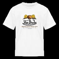 Kids' Shirts ~ Kids' T-Shirt ~ Von Dude Flying Yin Yang Bowling Ball - Children's T-Shirt