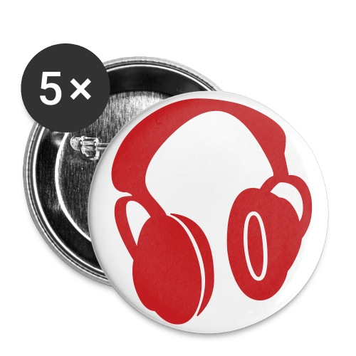 Headphones - Large Buttons